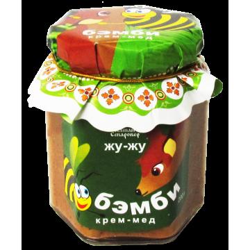 КРЕМ-МЁД БЭМБИ с орехами, вареной сгущенкой и шиповником