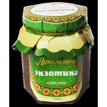 КРЕМ-МЁД ЭКЗОТИКА с орехами, кофе, какао и вареной сгущенкой