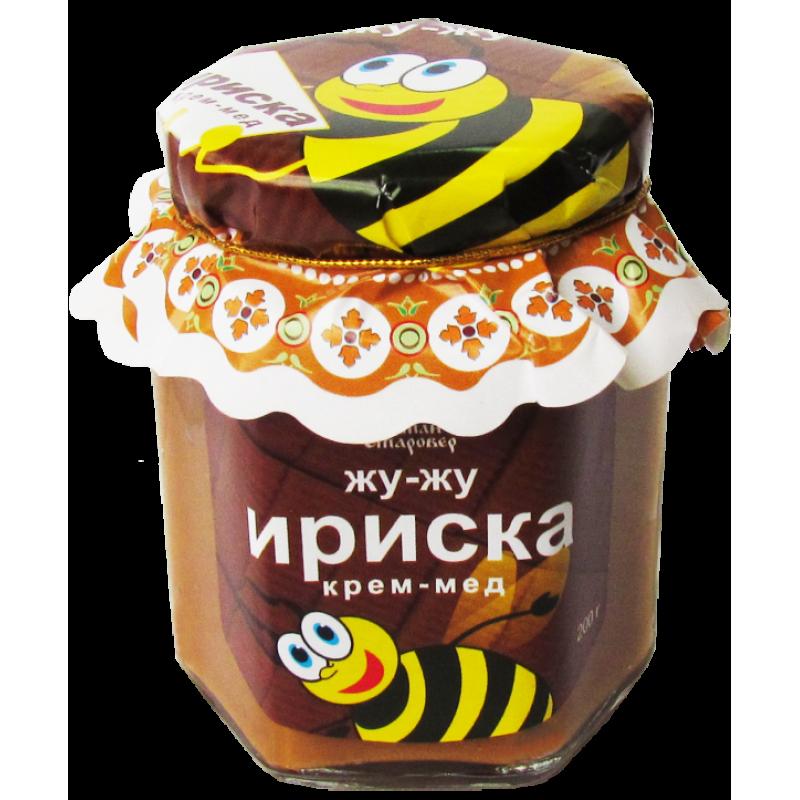 КРЕМ-МЁД ИРИСКА с вареной сгущенкой
