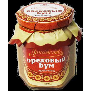 КРЕМ-МЁД ОРЕХОВЫЙ БУМ с пятью видами орехов и кофе