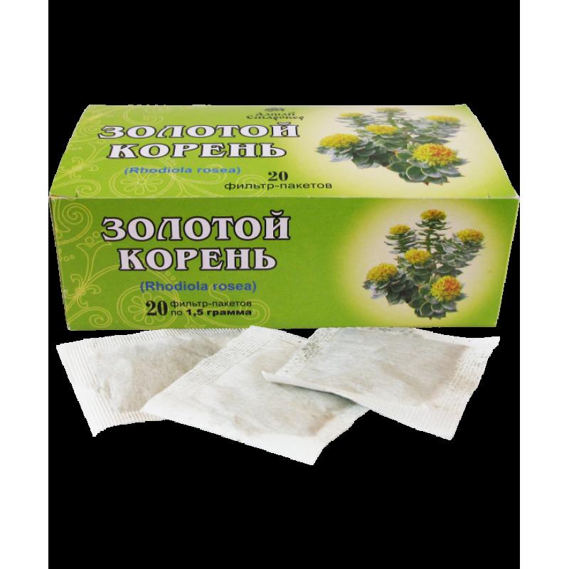 ЗОЛОТОЙ КОРЕНЬ (20 фильтр-пакетов по 1,5 г)