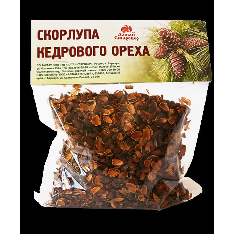 СКОРЛУПА кедрового ореха (150 г)