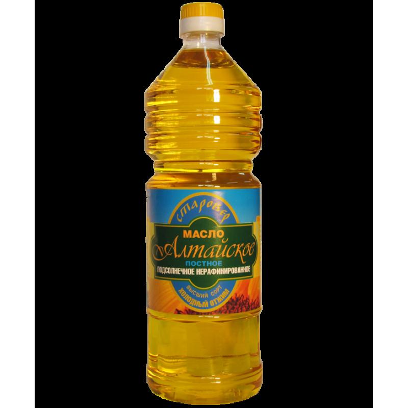"""Масло растительное """"Алтайское"""""""